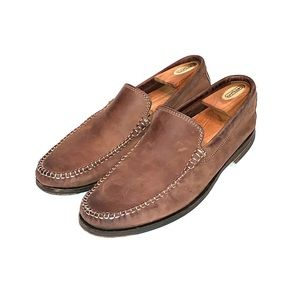 CLARKS Mens Suede Loafers Size 9M